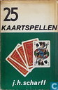 Books - Miscellaneous - 25 kaartspellen