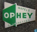Ophey wafels gaufrettes [groen]
