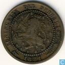 Netherlands 1 cent 1881