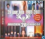 20 Jaar hits 1981-2001 muziek 20 daagse