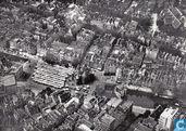Luchtfoto Nieuwmarkt met Waag