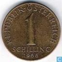 Autriche 1 schilling 1966