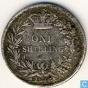 UK 1 shilling 1846