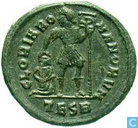 Roman Empire of Thessalonica AE3 Kleinfollis Emperor Valentinian I 364-367
