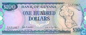 Guyana 100 Dollars ND (1989)