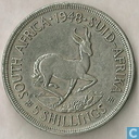 South Africa 5 shillings 1948