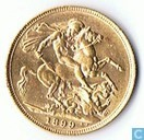 Australië 1 sovereign 1899 P
