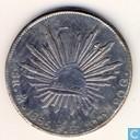 Mexique 8 reales 1865