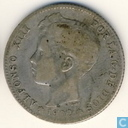 Espagne 1 peseta 1902