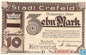 Crefeld 10 Mark 1918