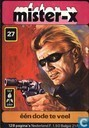 Comic Books - Mister-X [Tulpstrip] - Een dode te veel