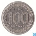 Äquatorial afrikanischen Staaten 100 Francs 1966