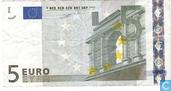 Zone Euro 5 Euro N-F-Du