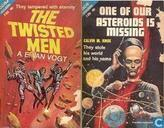 Livres - Knox, Calvin M. - The Twisted Men + One of our Asteroids is Missing