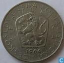 Tchécoslovaquie 5 korun 1966
