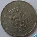 Czecho-Slovakia 5 korun 1966