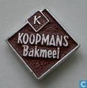 Speldjes, pins en buttons - Koopmans - Leeuwarden - Koopmans Bakmeel [bruin]