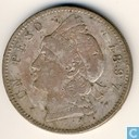 Dominican Republic 1 peso 1897