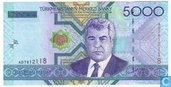 Turkmenistan 5000 Manat