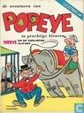 Strips - Popeye - Popeye en de verliefde olifant