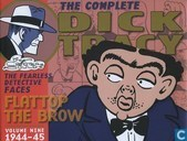 1944-45 - The Fearless Detective Faces Flattop & the Brow