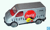 Voitures miniatures - Matchbox Int'l Ltd. - Ford Transit 'Coca-Cola'