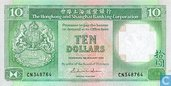 Hongkong 10 Dollars
