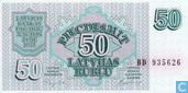 Lettland 50 rublu