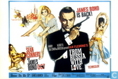 EO 00722 - Bond Classic Posters - From Russia with Love