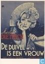 B000954 - Nederlands Filmmuseum - Marlene Dietrich in De Duivel is een Vrouw