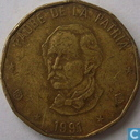 République dominicaine 1 peso 1991