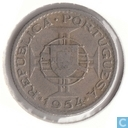 Mozambique 2½ escudos 1954