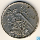 Spanje 25 pesetas 1957 (59)