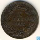 Portugal 10 Reis 1883