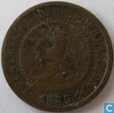 Pays-Bas ½ cent 1885