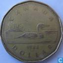 Canada 1 dollar 1988