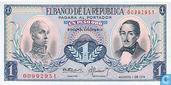 Colombia 1 Peso Oro