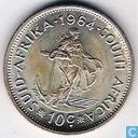 Südafrika 10 Cent 1964