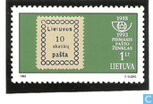 The first post stamp