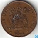 Zuid-Afrika 2 cents 1984