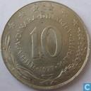 Joegoslavië 10 dinara 1977