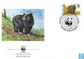 WWF - ours noir