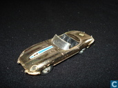 Jaguar E-type (gold, no driver)