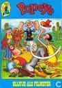 Comics - Popeye - Olijfje als filmster