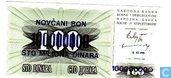 Bosnien-Herzegowina 100 000 000 Dinara