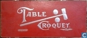 Table-Croquet Tafel-Croquet