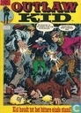 Comic Books - Outlaw Kid - Kid houdt tot het bittere einde stand!