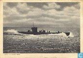 U-Boot in voller fahrt