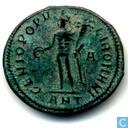Romeinse Keizerrijk Antioch Grootfollis van Keizer Diocletianus 299-300 n.Chr.