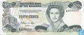 Bahamas 50 centimes 1984
